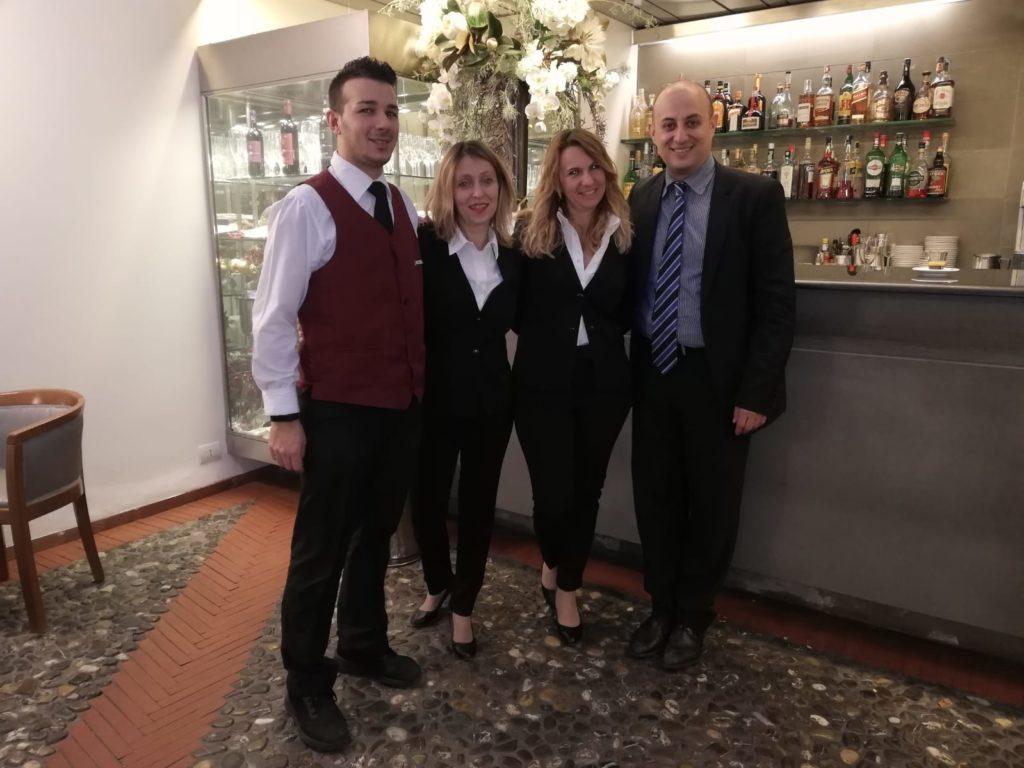 Lo staff di palazzo Ricasoli
