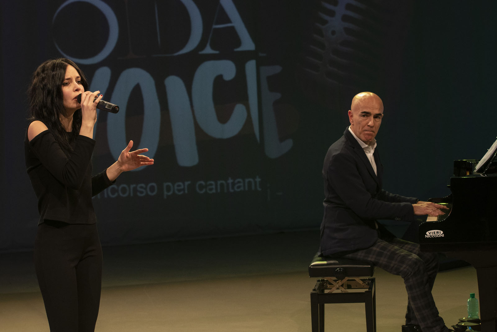 Tania Giommoni a Oida Voice