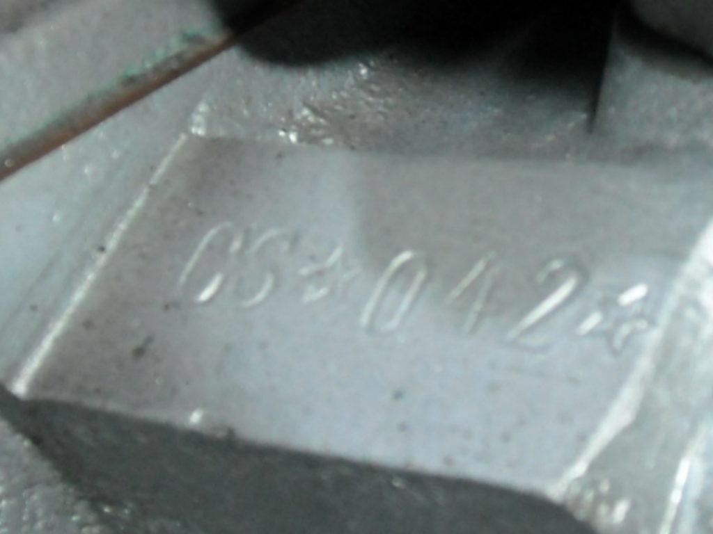 Il numero di serie della Fiat 8V in asta a maggio