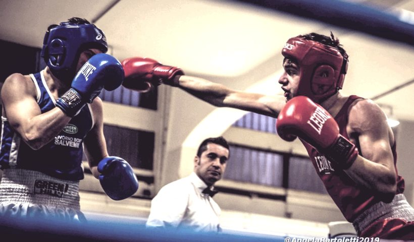 Atleti della pugilistica pratese sul ring