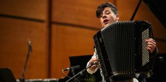 Lorenzo Albanese alla fisarmonica per Franco Zeffirelli
