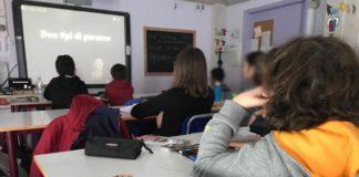 Ragazzi a scuola a Borgo San Lorenzo