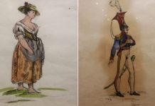 Costumi per Elisir d'amore di Franco Zeffirelli