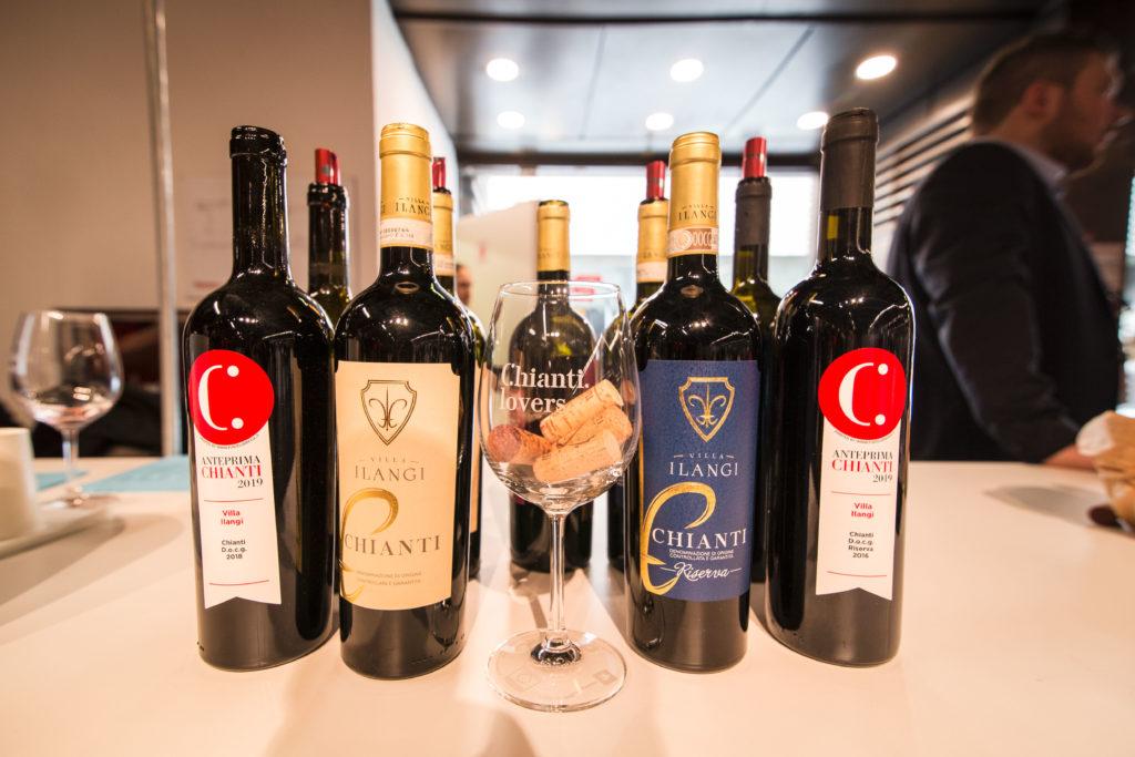 Bottiglie di Chianti