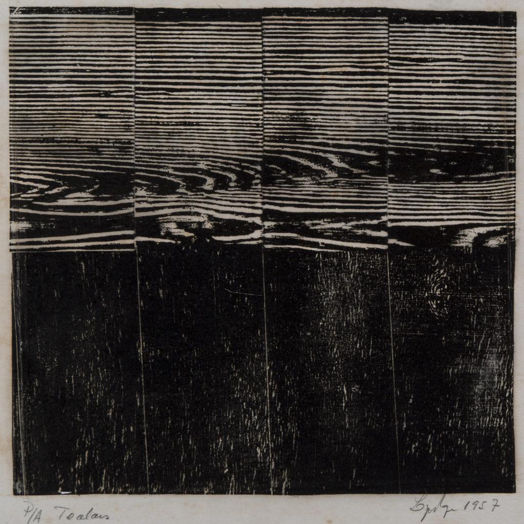Tecelar, 1957