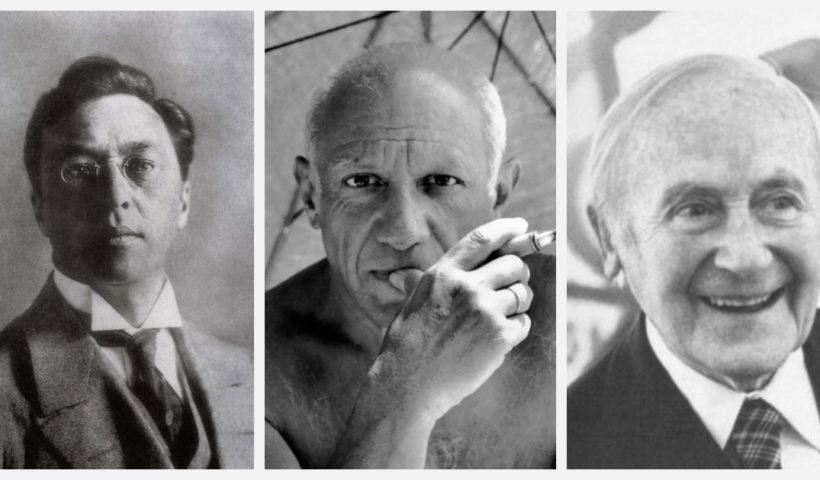 Artist - Kandiskiy, Picasso e Miro