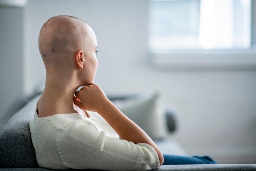 Chemioterapia giovane donna