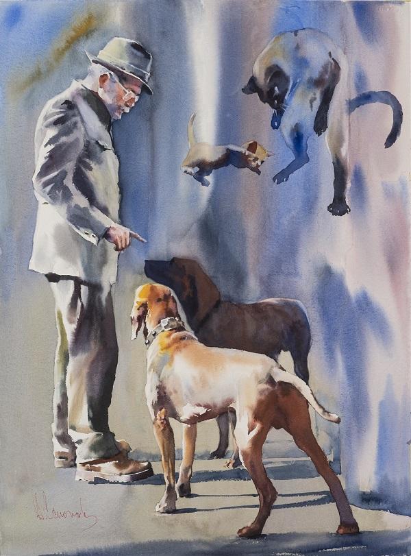 Un'opera di Andrej Esionov