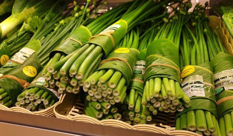 Dimenticate i sacchetti di plastica. In Asia arrivano le foglie di banana