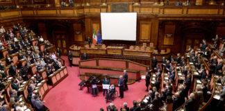 Aula di palazzo madama con Franco Zeffirelli