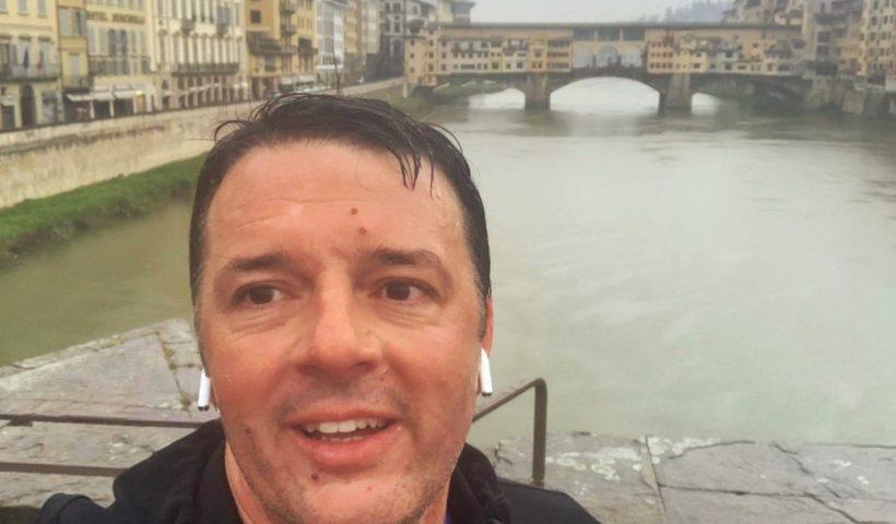 Il selfie di Matteo Renzi