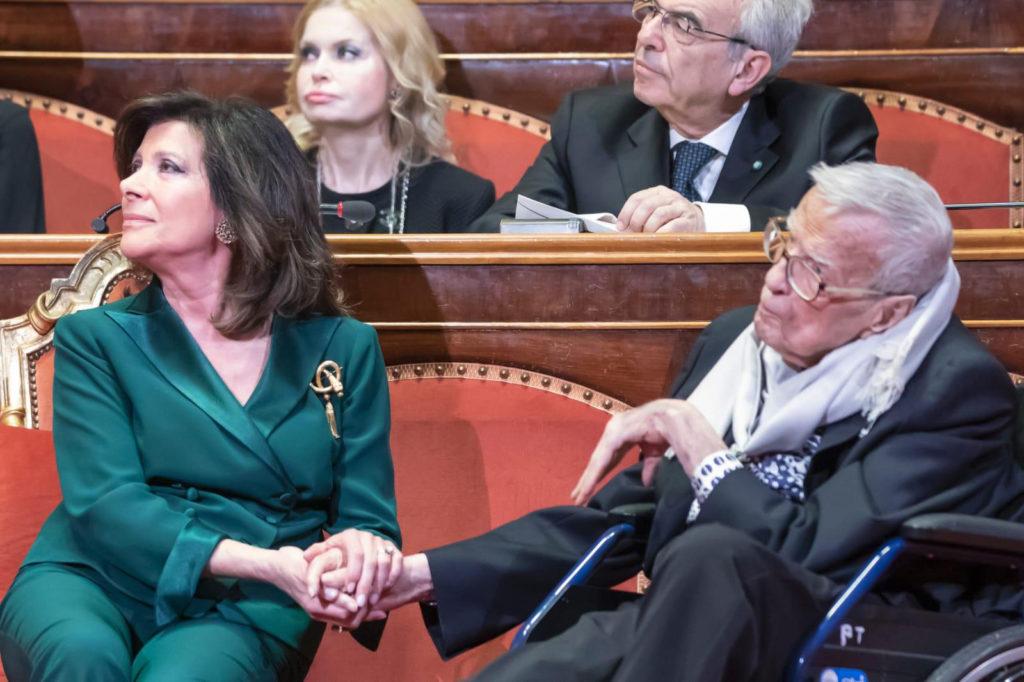Elisabetta Casellati con Franco Zeffirelli