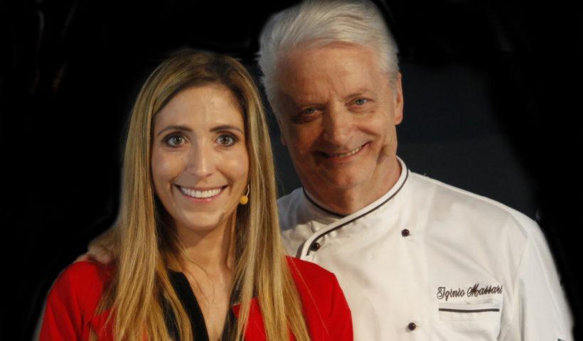 Iginio Massari e Sabrina Dg