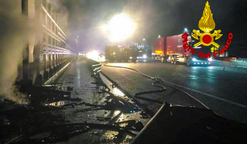 Incidente autostrada Calenzano