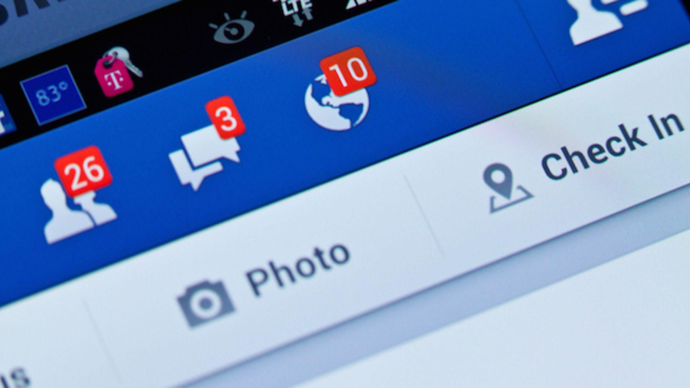 Social schermata Facebook