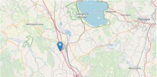Terremoto scossa Cetona