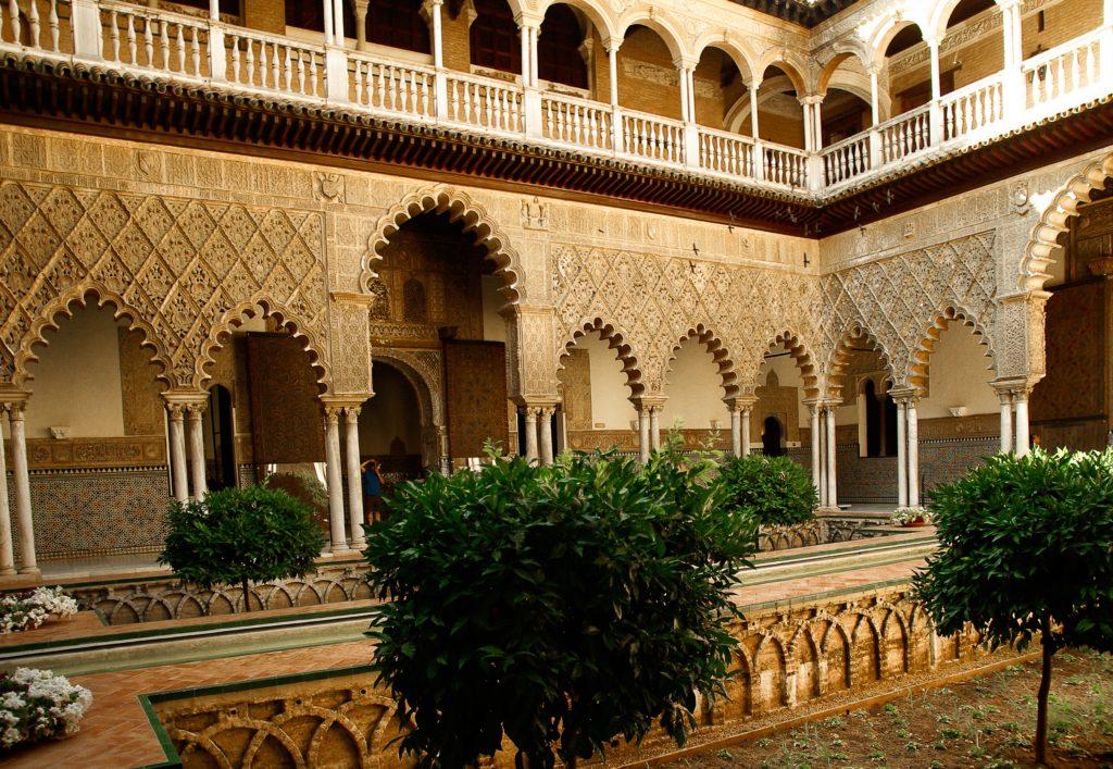 Giardini dellAcqua del Palazzo del Regno di Dorne Real Alcazar  di Siviglia