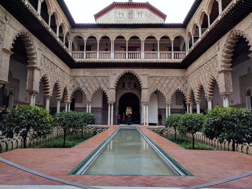 Giardini dell'Acqua del Palazzo del Regno di Dorne Real Alcazar  di Siviglia