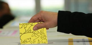Scheda urna seggio elezioni animalismo