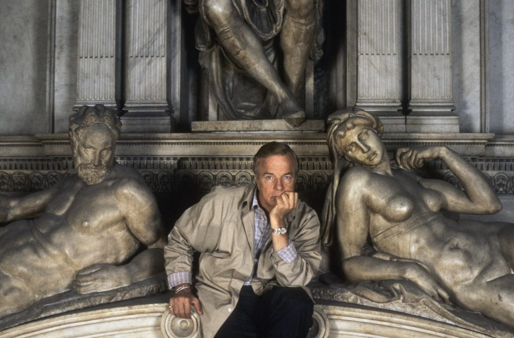Franco Zeffirelli alle cappelle medicee di Firenze