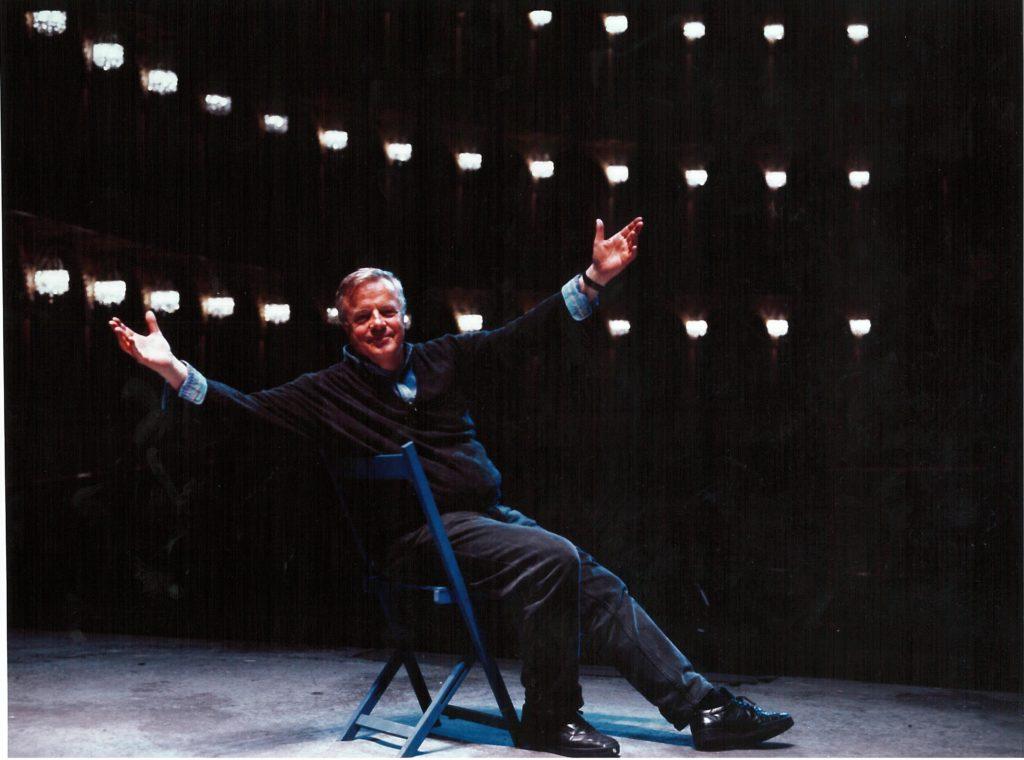 Franco Zeffirelli sul palcoscenico