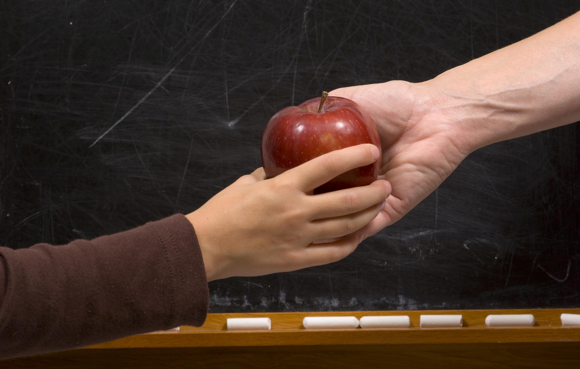 Lo scambio di una mela