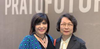 Silvia Bocci di Pratofutura e la giornalista cineseHu Lanbo