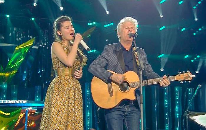 Tecla Insolia al Festival di Sanremo con Claudio Baglioni