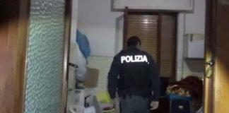 Un fermo immagine del video della polizia