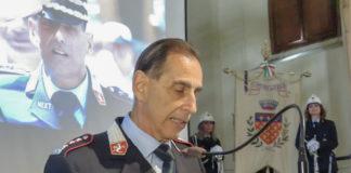 Il comandante Andrea Pasquinelli