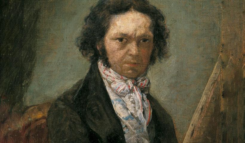 Autoritratto di Francisco Goya (particolare) 1795