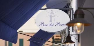 L'insegna del Bar del Porto di Porto Ercole