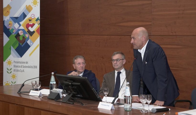 Gli oratori del convegno di estra a Siena