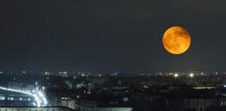 Eclisse di Luna parziale