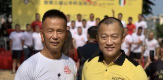 Luca Zhou Long, presidente Associazione Generale Ramunion Italia, He Jun, presidente mondiale
