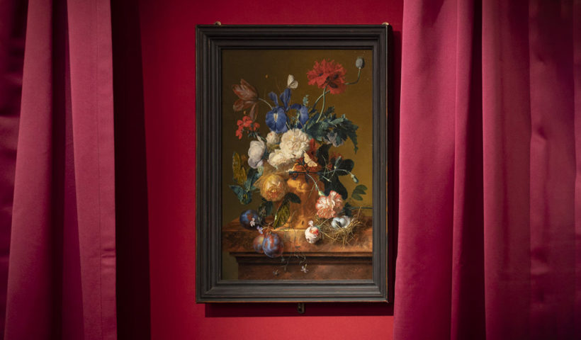 Il Vaso di Fiori di Jan van Huysum