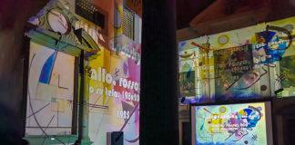 La videoinstallazione Kandinsky Explosion di Cesare Pergola