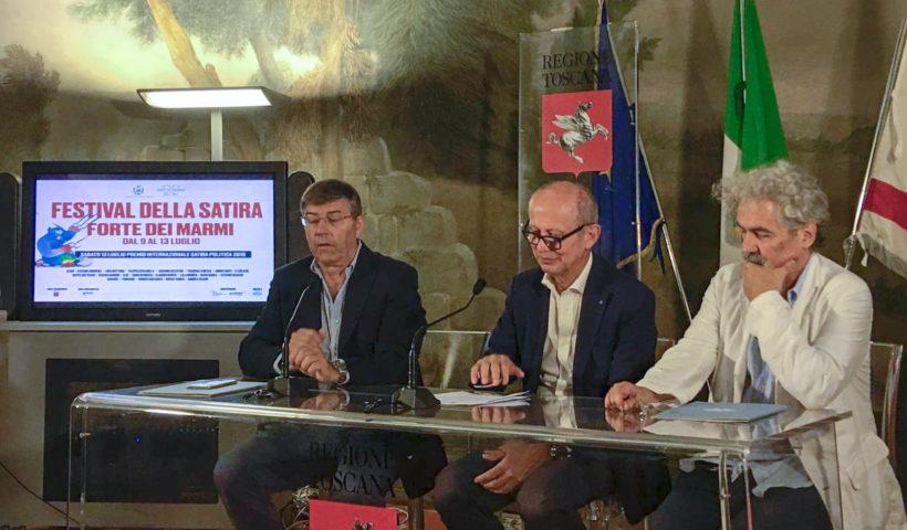 La presentazione del festival della satira
