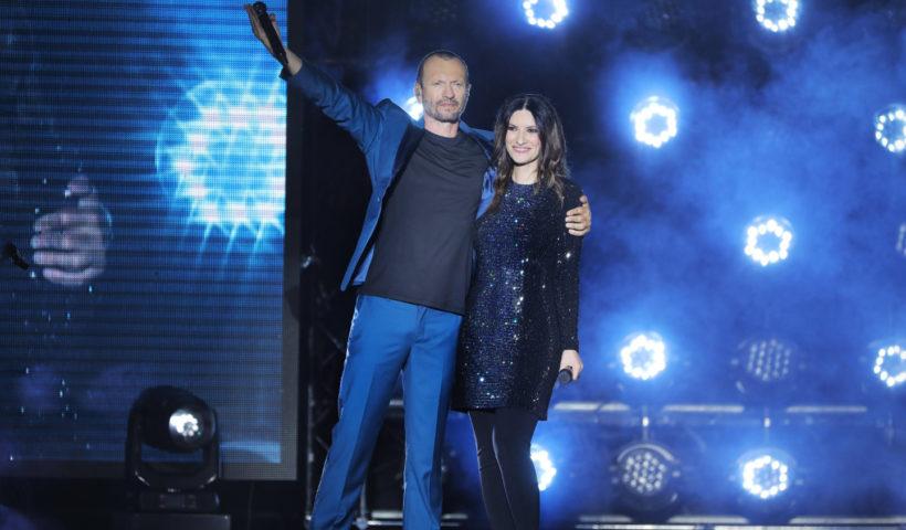 Laura Pausini e Biagio Antonacci nel tour 2019