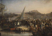 Napoleone parte da Portoferraio