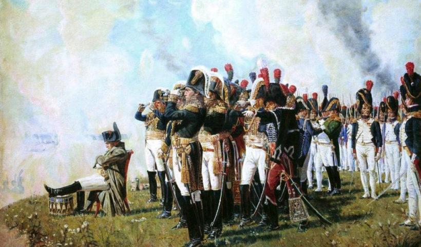Napoleone sul campo di battaglia