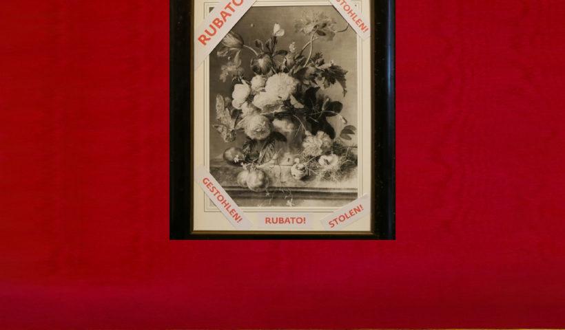 La copia del Vaso di Fiori collocata dal direttore Eike Schimdt per sollecitare la restituzione del quadro