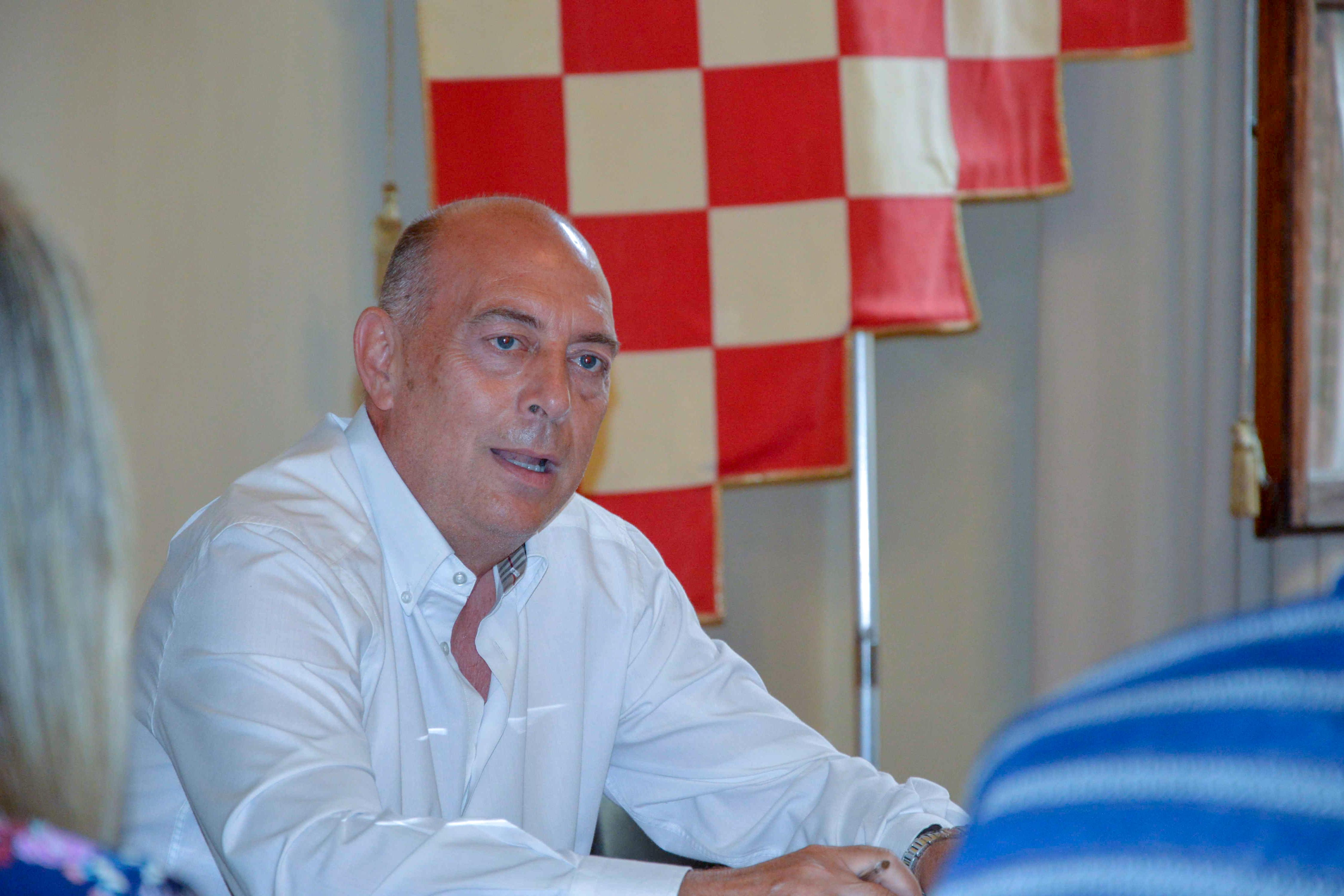 L'assessore al turismo del Comune di Pistoia Alessandro Sabella