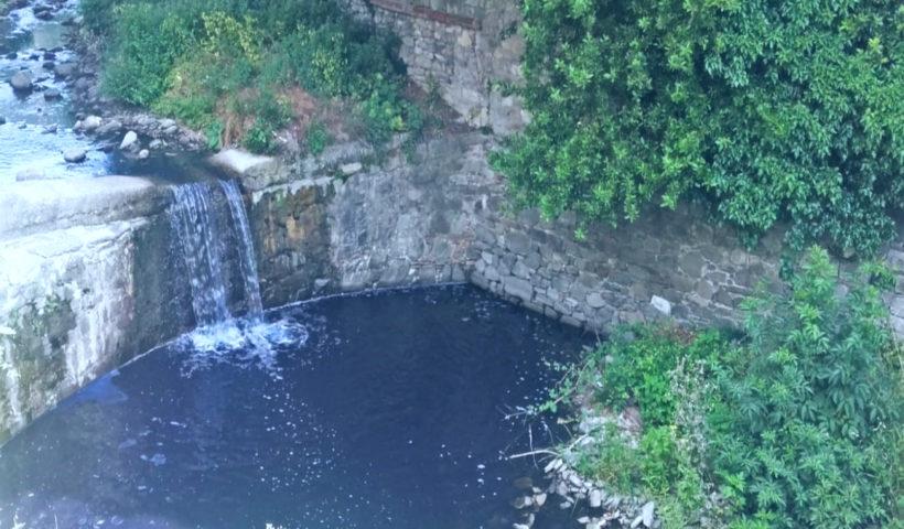 Acqua inquinata Migliana