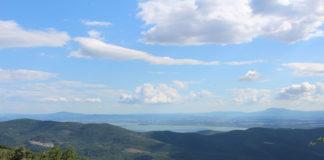 panorama da monte ginezzo