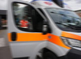 Ambulanza sfocata