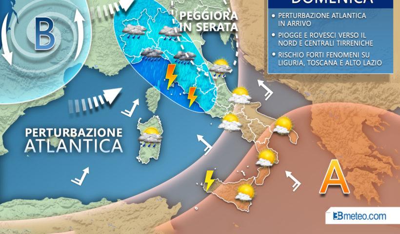 Meteo Italia domenica 22 settembre 2019
