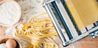 Pasta fatta in casa con la macchinetta