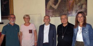 Relatori rapporto Caritas sulla povertà a Prato
