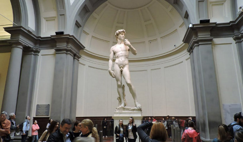 Galleria dell'Accademia David di Michelangelo